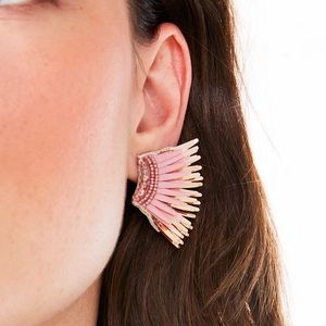 Mignonne Gavigan purple mini Madeline earrings
